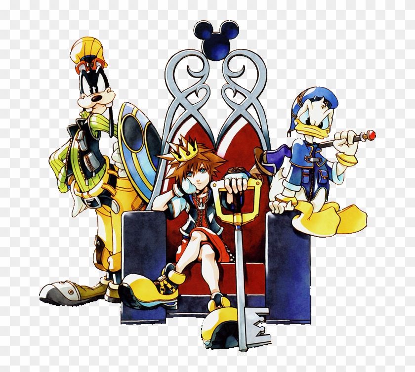 Kingdom Hearts Transparent Png.
