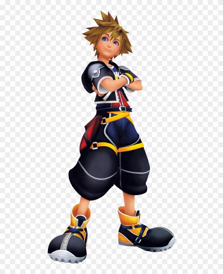 Kingdom Hearts Clipart Sora.