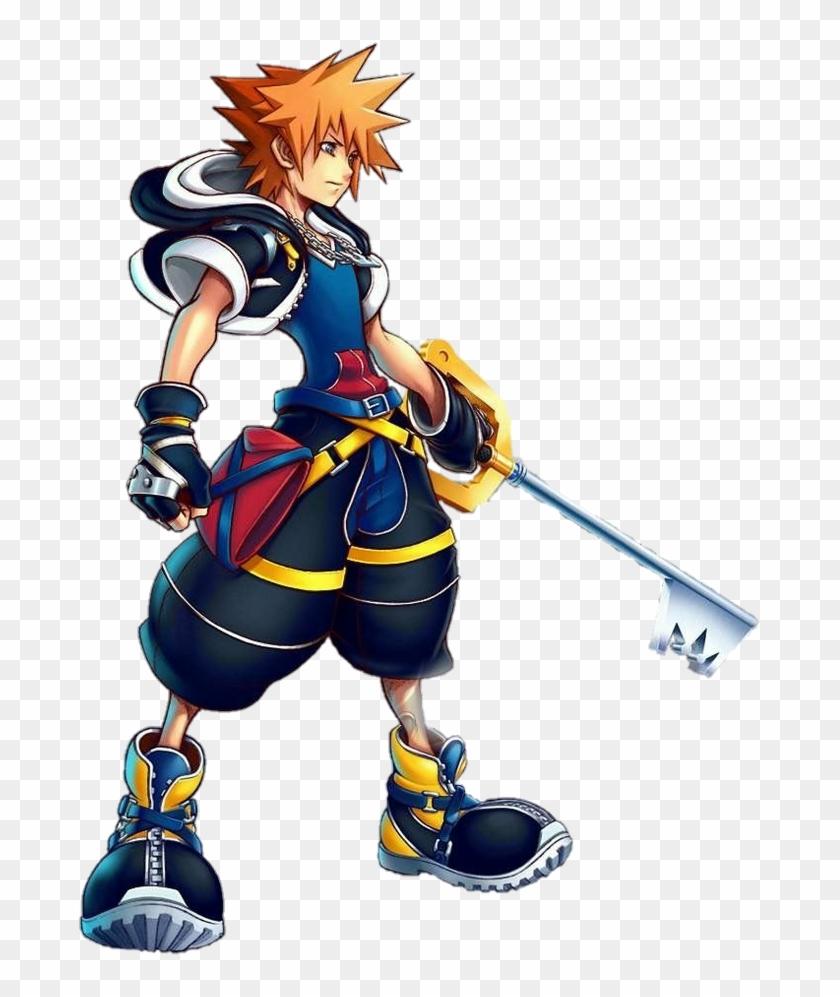 Kingdom Hearts Sora Render, HD Png Download.