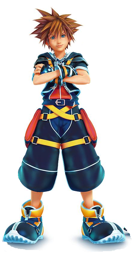 Kingdom Hearts Sora Png images collection for free download.