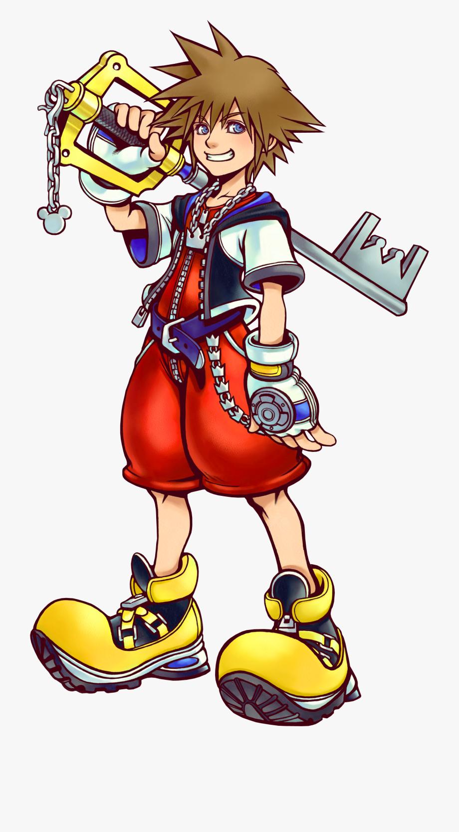Kingdom Hearts 1 Sora Png.