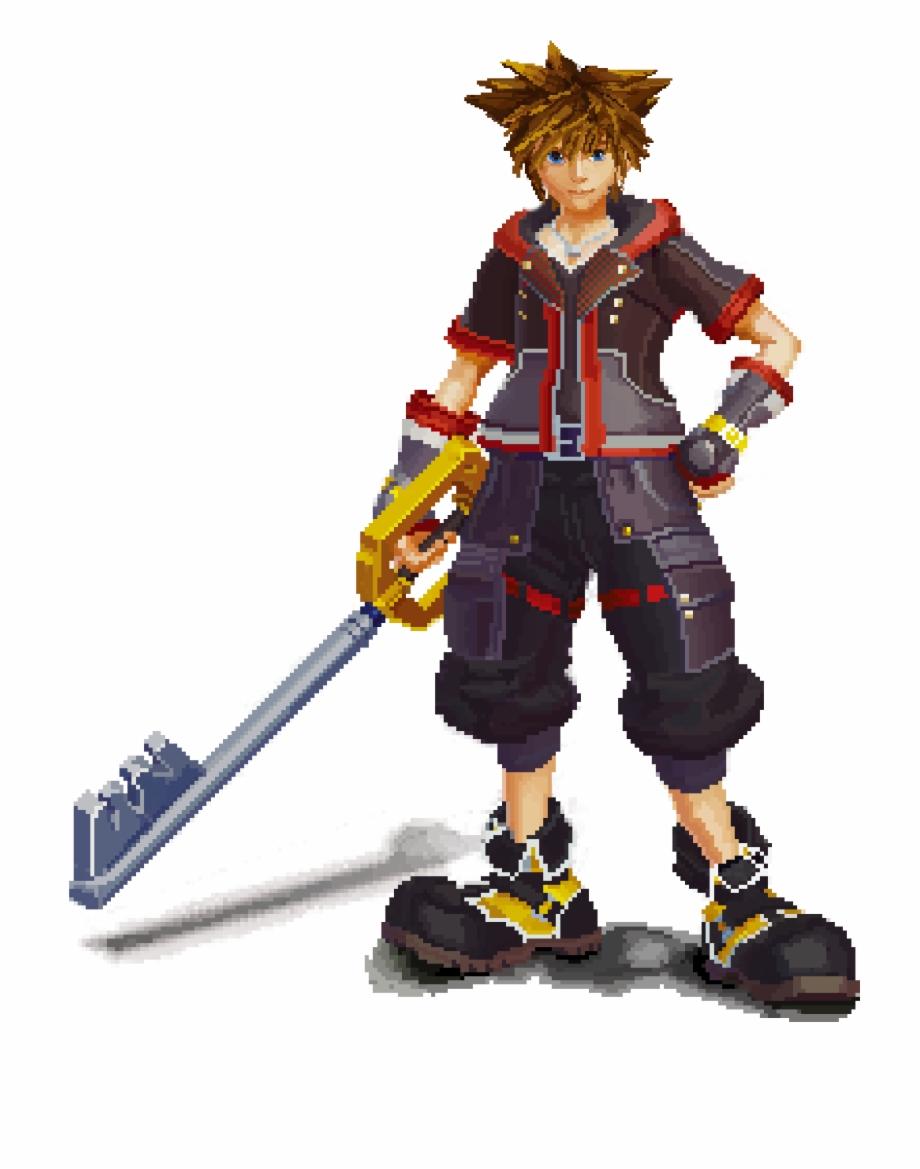 Kingdom Hearts Iii Transparent Image.