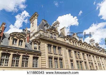 Stock Photo of The Sorbonne or University of Paris in Paris.