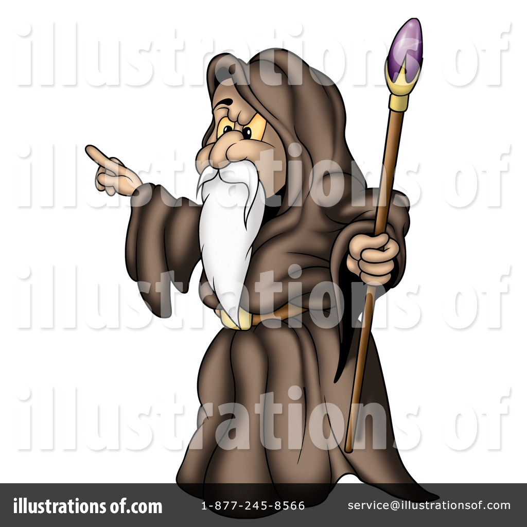 Sorcerer Clipart #51466.