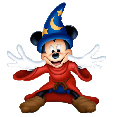 Mickey The Sorcerer Halloween Clipart Images Are On A.