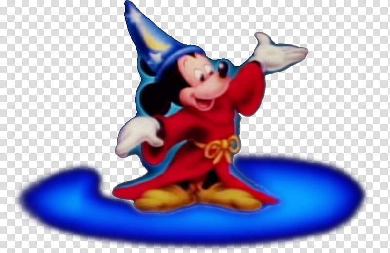 Walt Disney Home Video Sorcerer Mickey transparent.