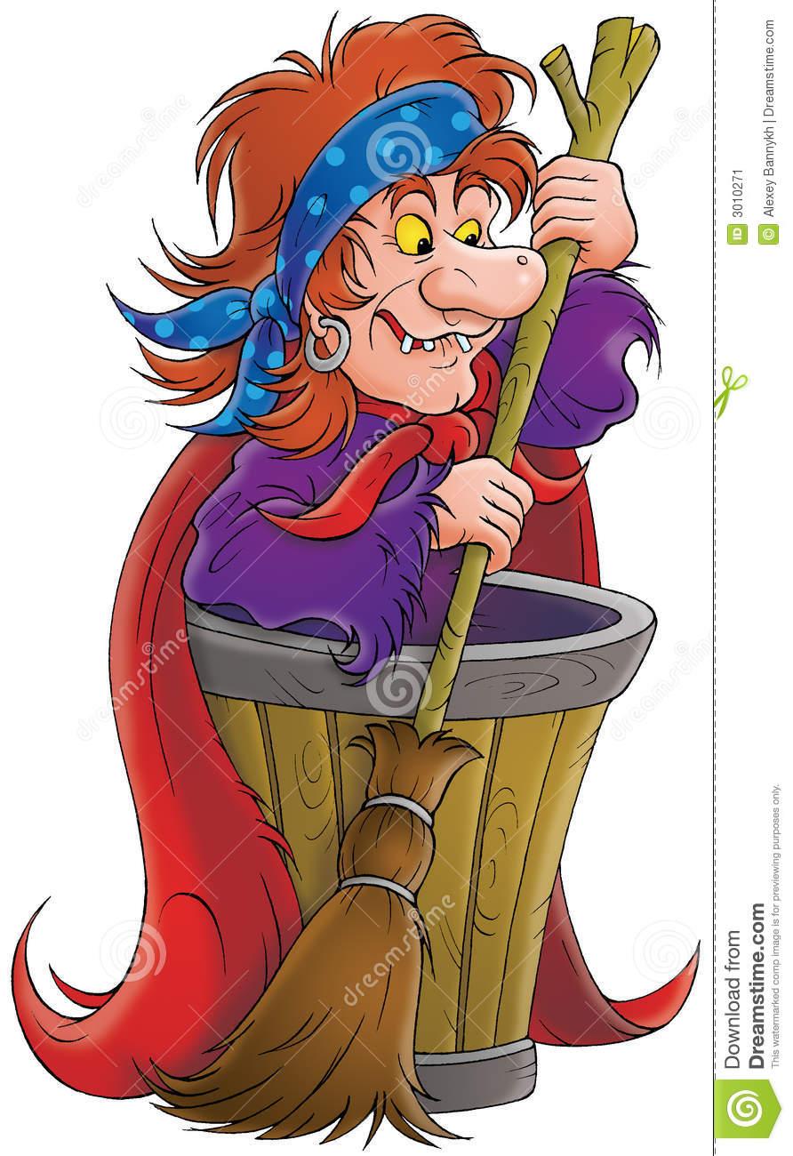 Sorceress Stock Image.