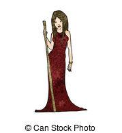 Sorceress Vector Clipart EPS Images. 821 Sorceress clip art vector.
