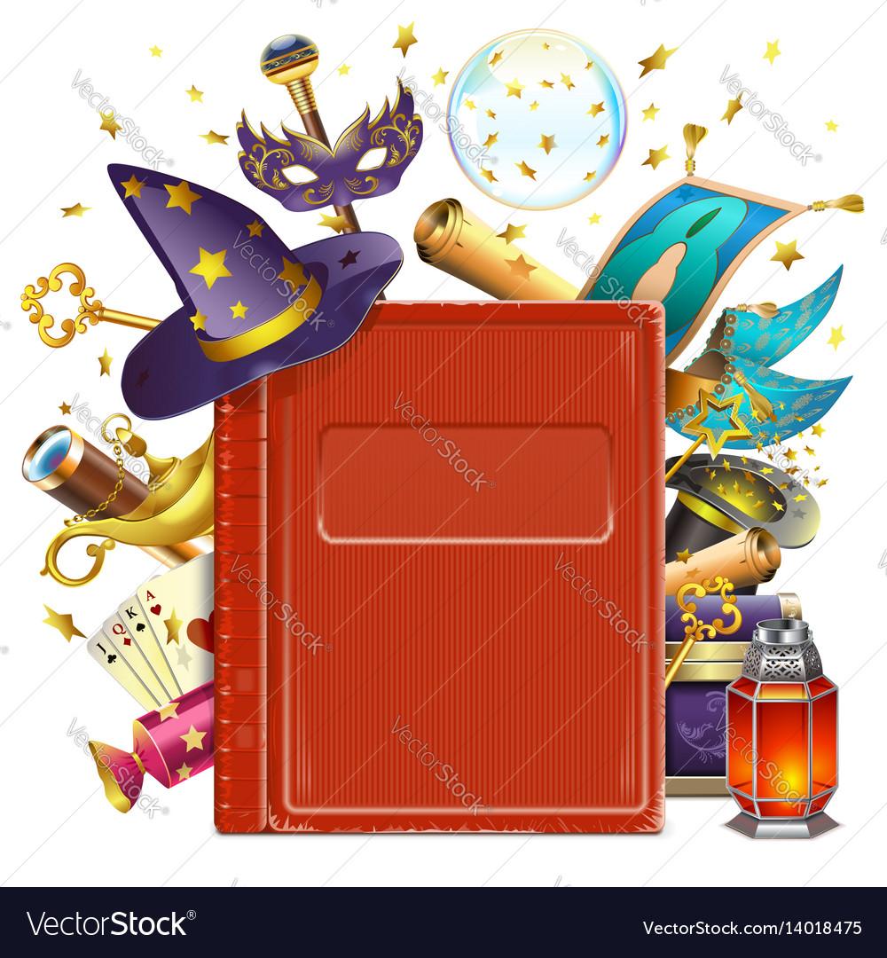 Magic book.