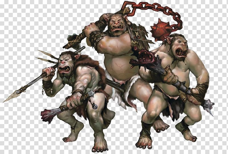 Dungeons & Dragons Magic: The Gathering Ogre Pathfinder.
