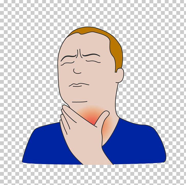 Neck Sore Throat Cartoon PNG, Clipart, Arm, Cervical.