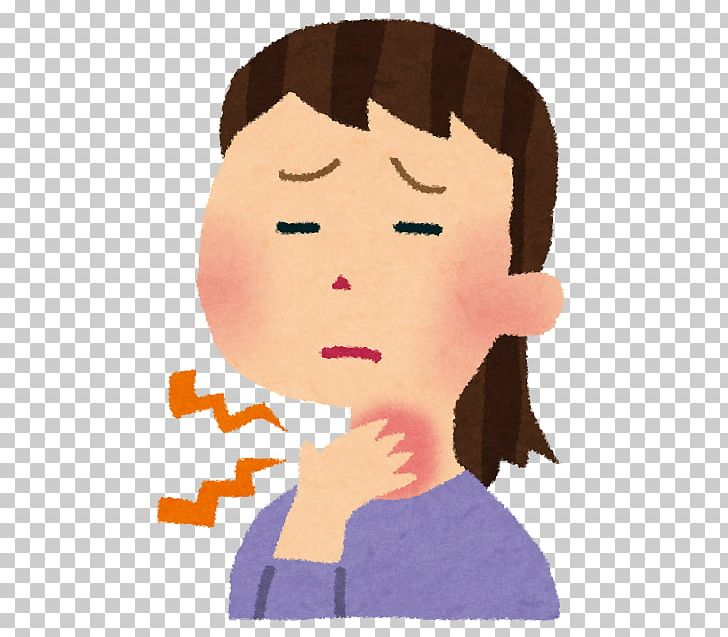 Sore Throat Ache Common Cold Tonsillitis Inflammation PNG.