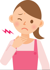 Free Clipart Sore Throat.