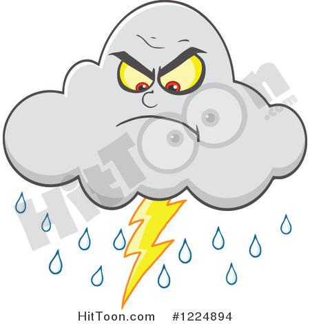 Lightning storm clipart.