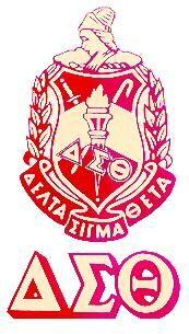 Delta Sigma Theta Emblems.