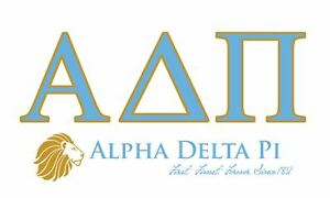 Details about Alpha Delta Pi ADPI Sorority Flag.