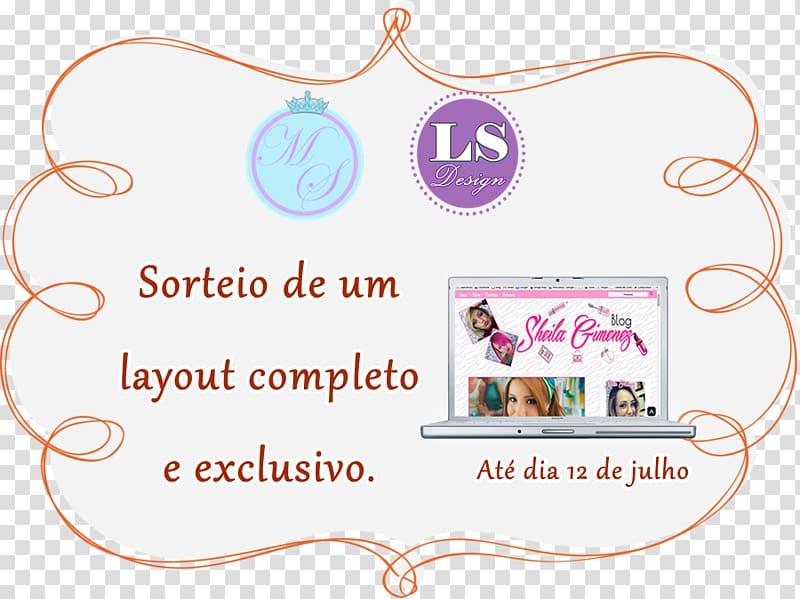 Logo Leidiane Brand Page layout, SORTEIO transparent.