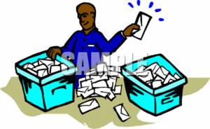 Sorting Clipart.