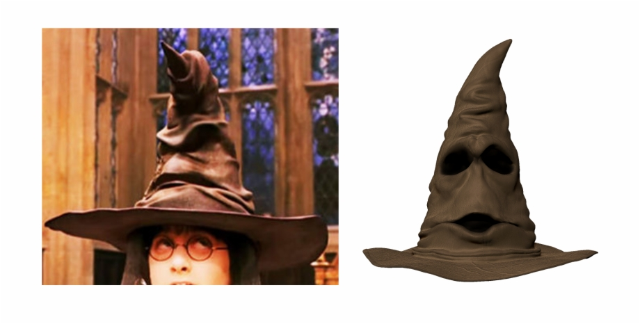 Harry Potter In The Sorting Hat Free PNG Images & Clipart.