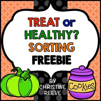 Food Sorting Free Worksheets (Special Ed.; by Autism Classroom.