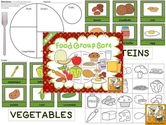Food Group Sort.