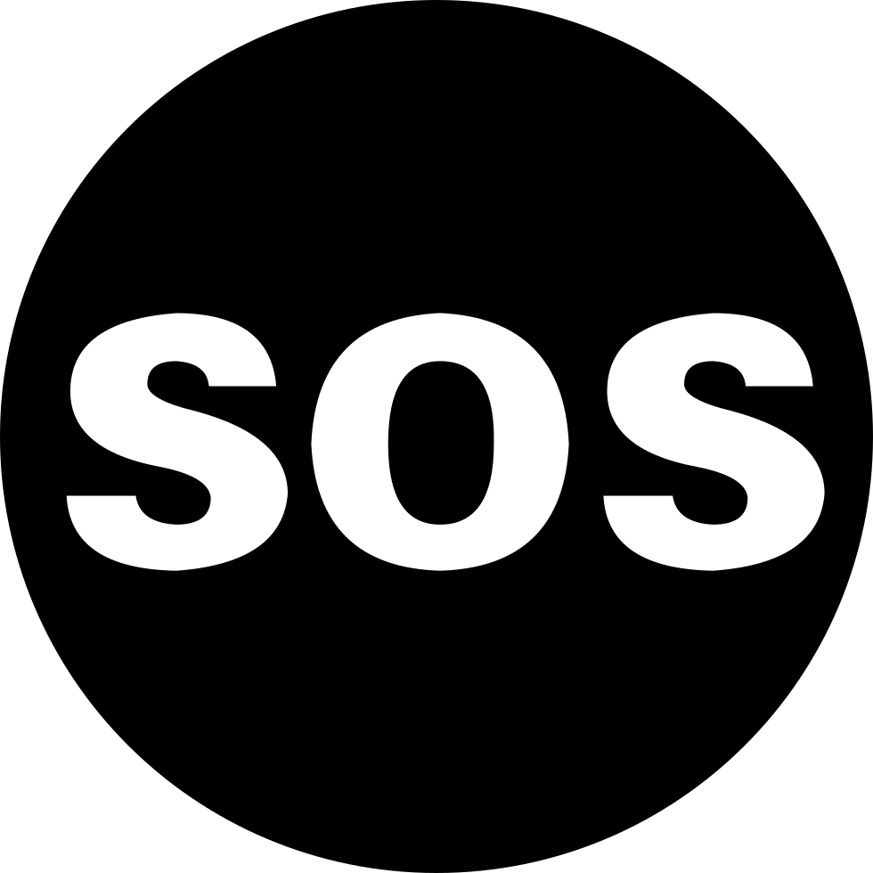SOS Button Svg Png Icon Free Download (#222690.