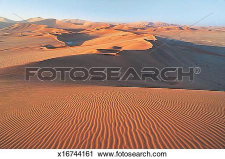 Stock Photography of Dunes in the Namib Desert, Sossusvlei.
