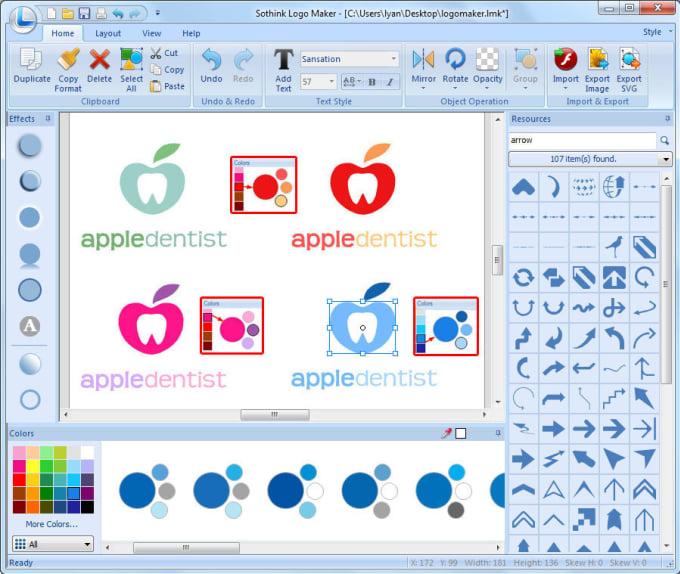 give you Sothink Logo maker professional.