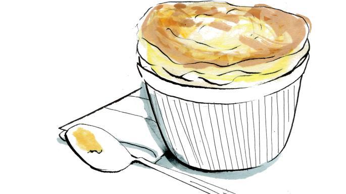 Recipe: Lindsey Bareham\'s smoked haddock soufflé.