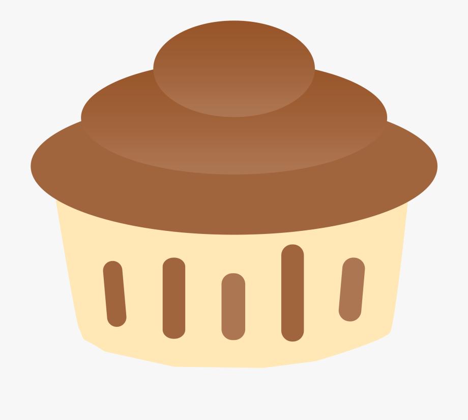 Vanilla Chocolate Cupcake Clipart.