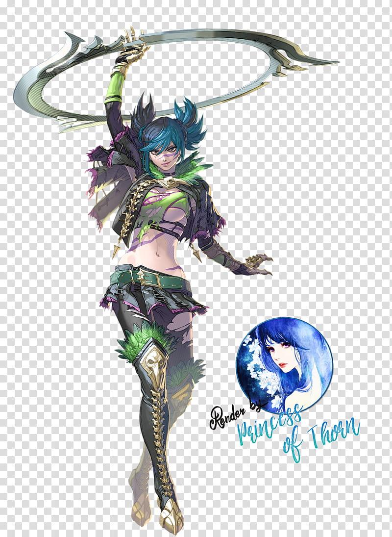 Tira Render Soul Calibur VI transparent background PNG.