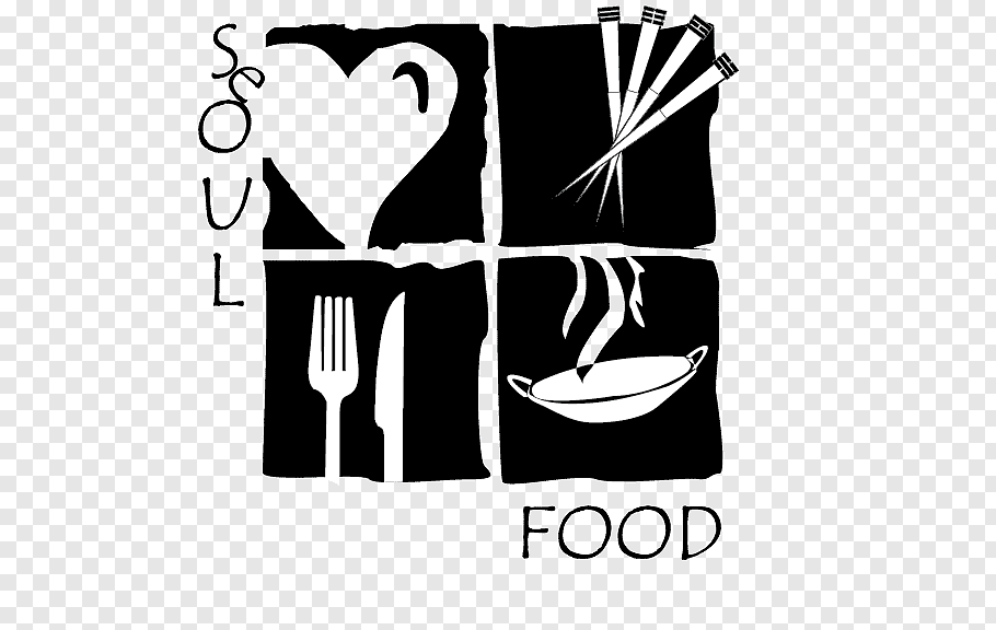 Soul food Logo Restaurant, crooked free png.
