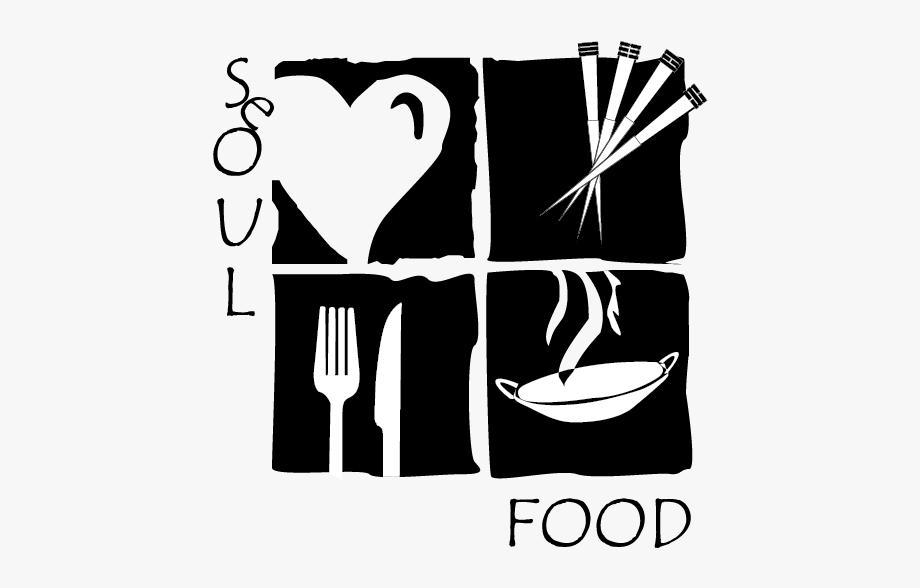 Menu Clipart Soul Food Plate.