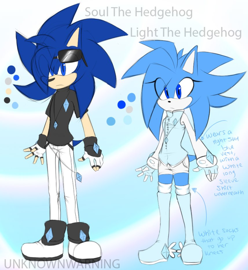Soul And Light The Hedgehog Reference Sheet by UnknownWarning on.