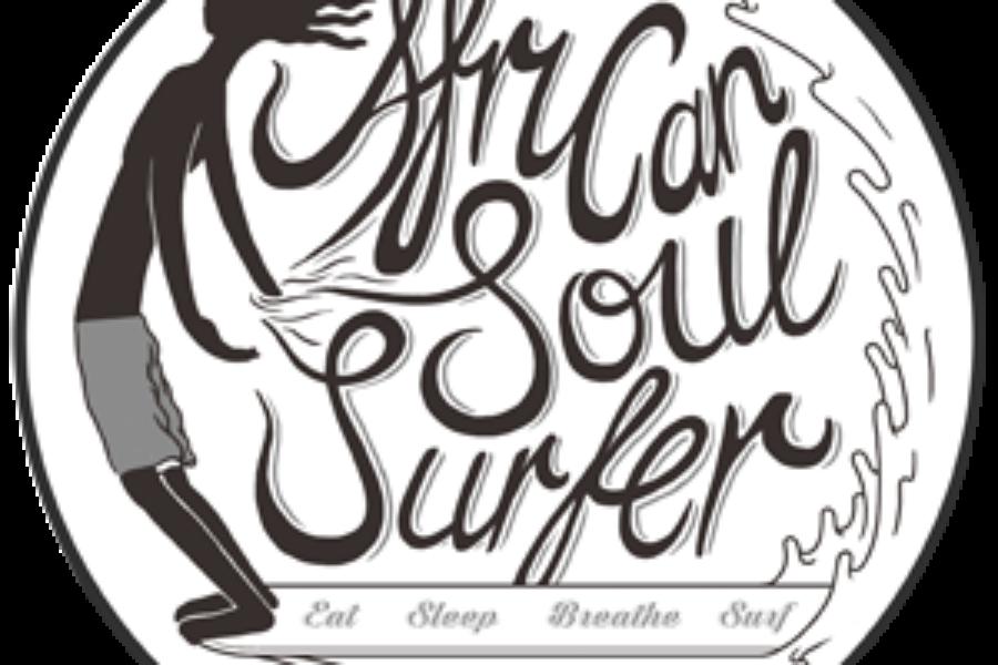 african soul surfer logo.