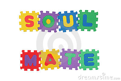 Soul Mate Royalty Free Stock Images.