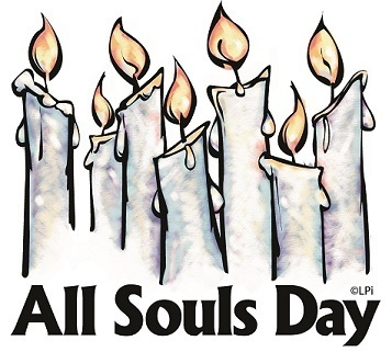Holy souls clipart.
