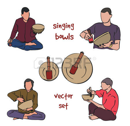 Singing Bowls Stock Photos Images. Royalty Free Singing Bowls.