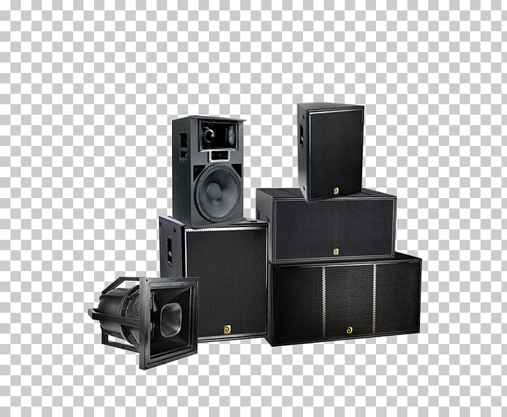 Computer speakers Sound box Subwoofer, design PNG clipart.