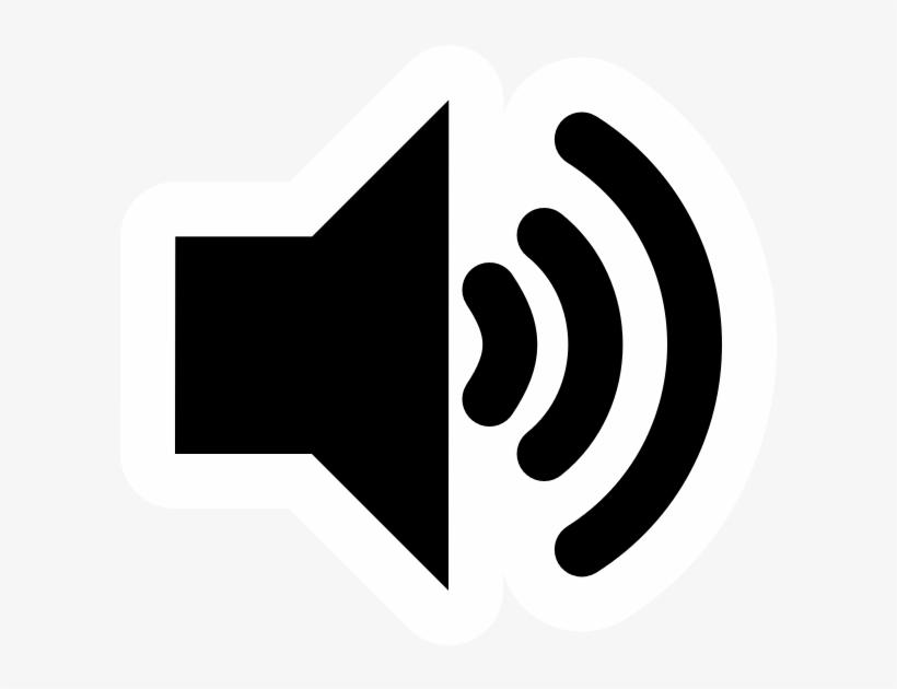 High Contrast Audio Volume High.