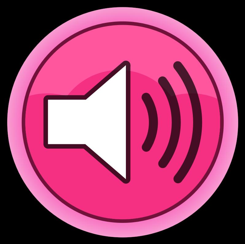 Free Sound Button Clip Art.
