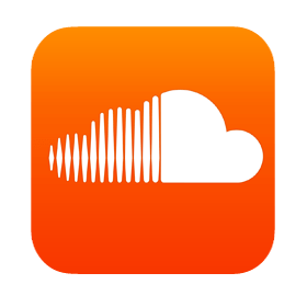 Soundcloud Icon transparent PNG.