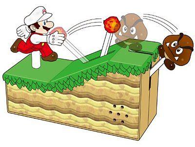 New Super Mario Bros. U Sound Figure Fire Mario New F/S.