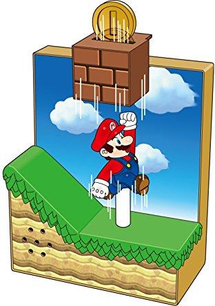 New Super Mario Bros. U Sound Figure 10 coin block (japan import.