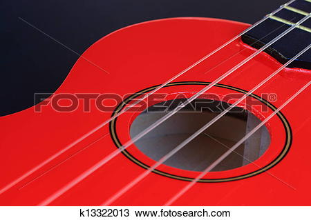 Stock Photo of Ukulele Sound Hole k13322013.