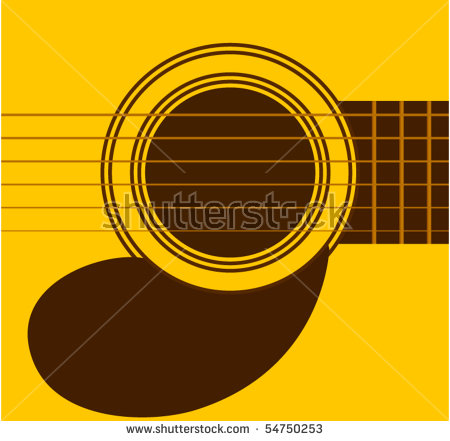 Guitar Sound Hole Stock Vector Illustration 54750253 : Shutterstock.