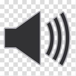 Flat Gray Icons, volume, gray sound icon illustration.