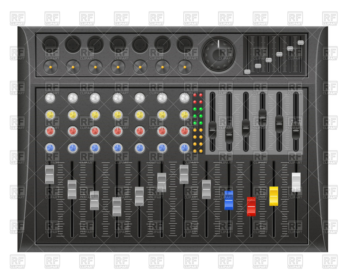 Sound mixer clipart - Clipground