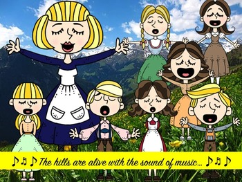 The Sound of Music Clip Art Collection.