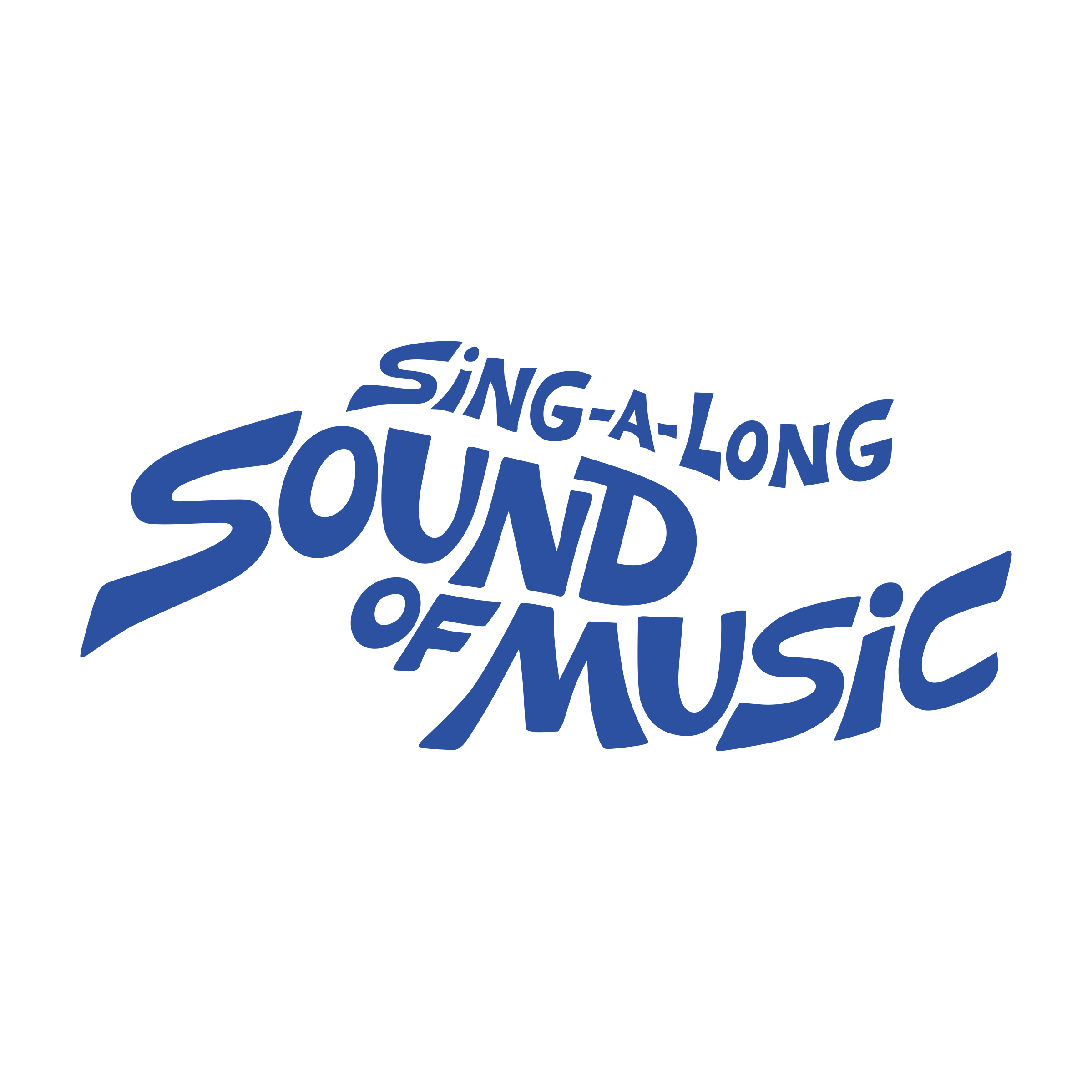 Sing a long a Sound of Music Logo PNG Transparent & SVG.